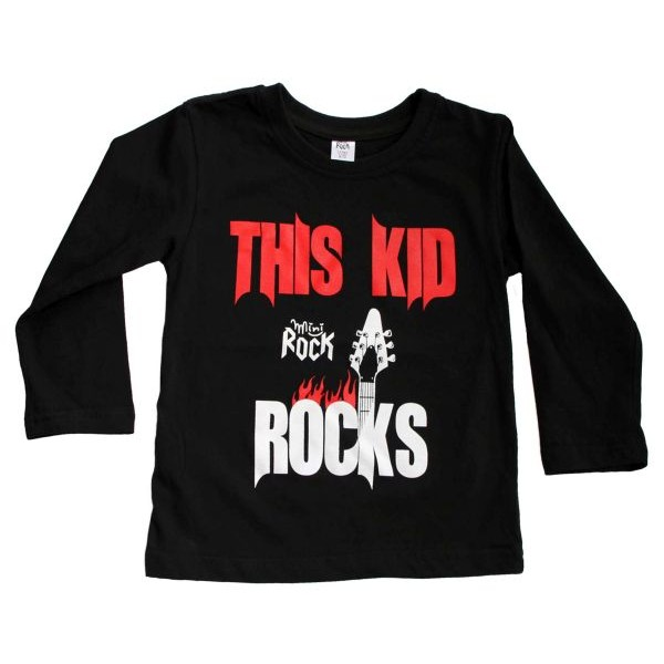 This Kid Rocks- Tricou maneca lunga, copii