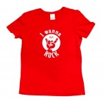 Set tricouri asortate Born to be Wild: tricou copil+ tricou mama+tricou tata